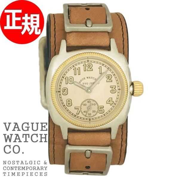 ヴァーグウォッチ VAGUE WATCH Co. 腕時計 メンズ COUSSIN WRISTBAND CO-L-008-GW-NL【2018 新作】
