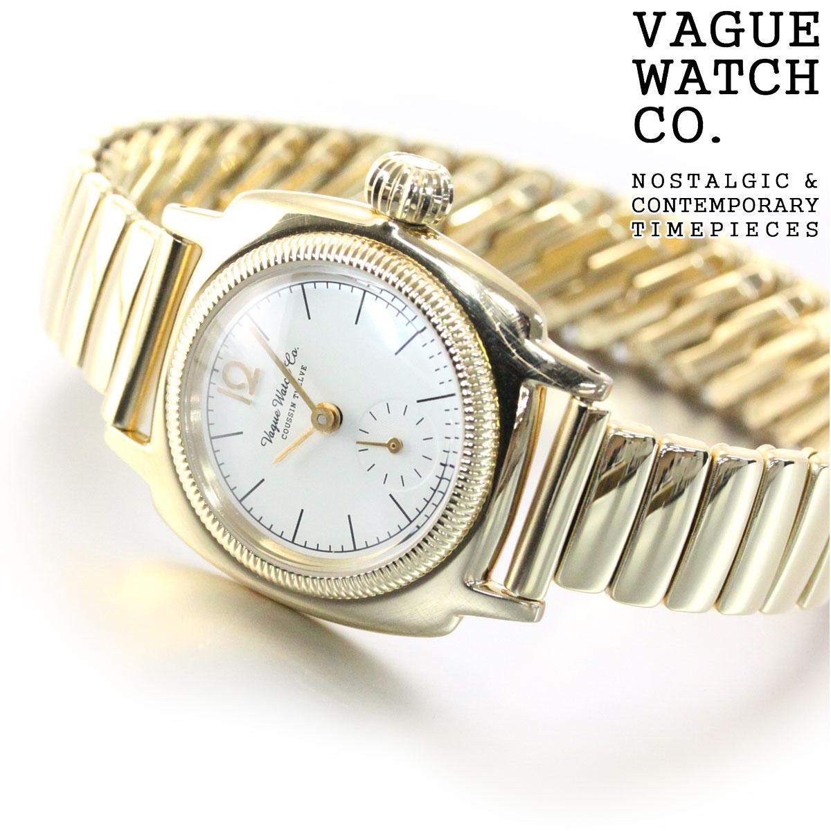 ヴァーグウォッチ VAGUE WATCH Co. 腕時計 レディース COUSSIN 12 CO-S-012-YG-SE【2018 新作】