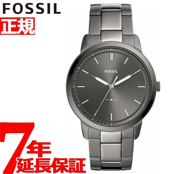 フォッシル FOSSIL 腕時計 メンズ ミニマリスト THE MINIMALIST 3H FS5459【2018 新作】