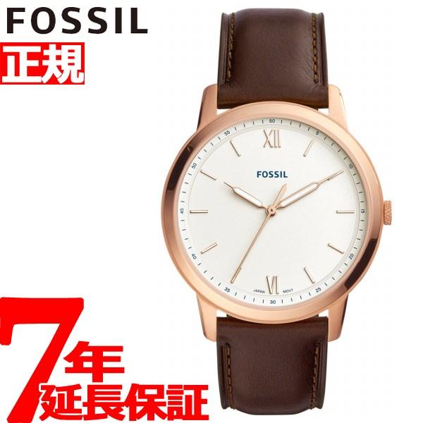 フォッシル FOSSIL 腕時計 メンズ ミニマリスト THE MINIMALIST 3H FS5463【2018 新作】