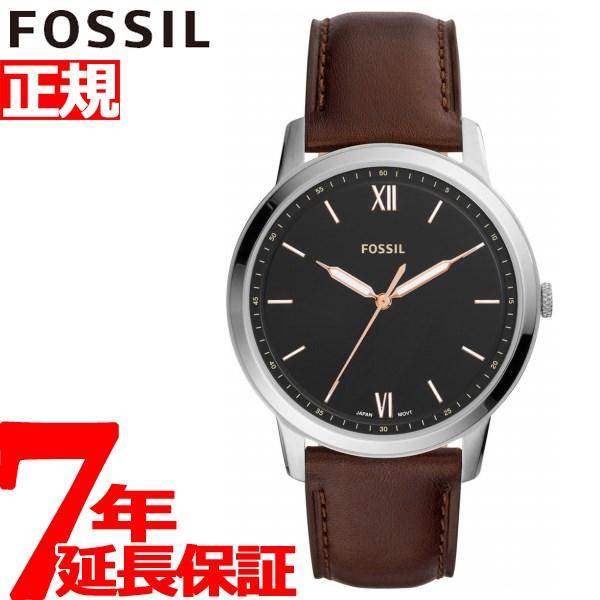 フォッシル FOSSIL 腕時計 メンズ ミニマリスト THE MINIMALIST 3H FS5464【2018 新作】