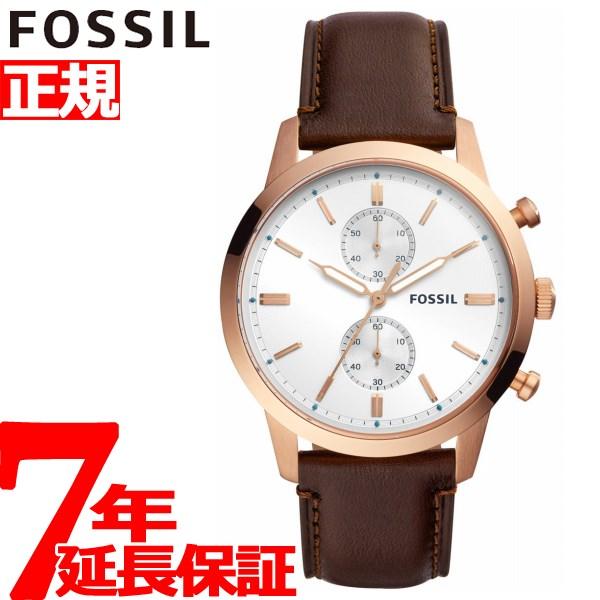 フォッシル FOSSIL 腕時計 メンズ タウンズマン 44MM TOWNSMAN クロノグラフ FS5468【2018 新作】