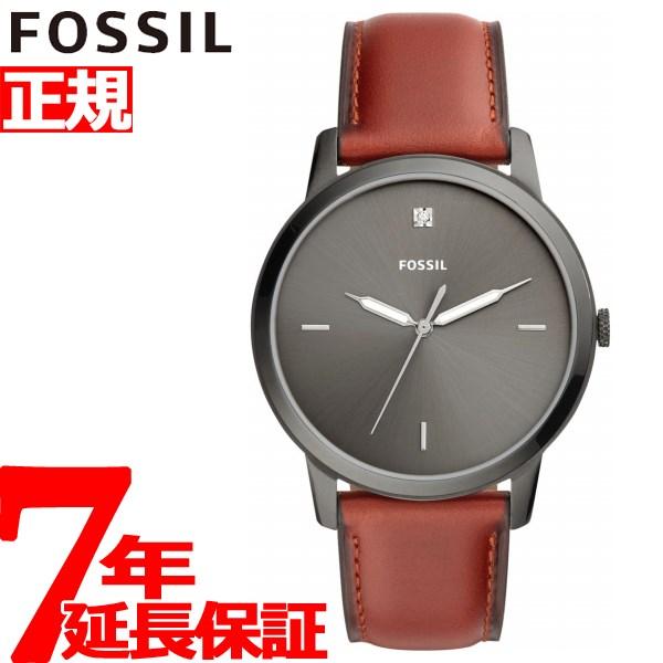 【お買い物マラソンは当店がお得♪本日20より!】フォッシル FOSSIL 腕時計 メンズ ミニマリスト THE MINIMALIST 3H FS5479【2018 新作】