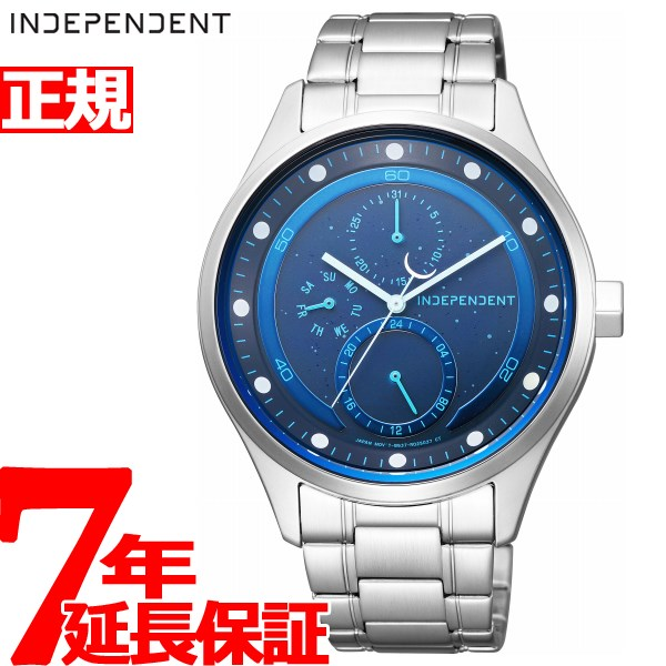 インディペンデント INDEPENDENT ソーラーテック 100周年記念 限定モデル 腕時計 メンズ ムーンコレクション MOON COLLECTION KB1-210-75【2018 新作】