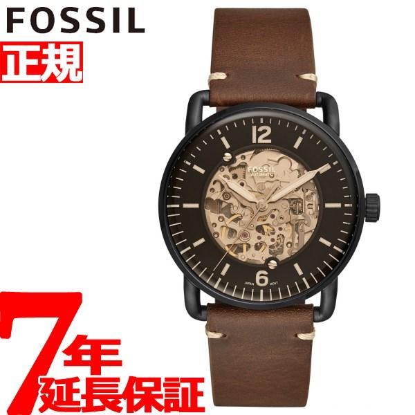 フォッシル FOSSIL 腕時計 メンズ 自動巻き コミューター オートマティック THE COMMUTER AUTOMATIC ME3158【2018 新作】