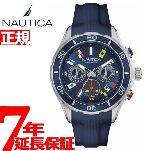 ノーティカ NAUTICA 腕時計 メンズ NST12 FLAGS クロノグラフ NAD16534G