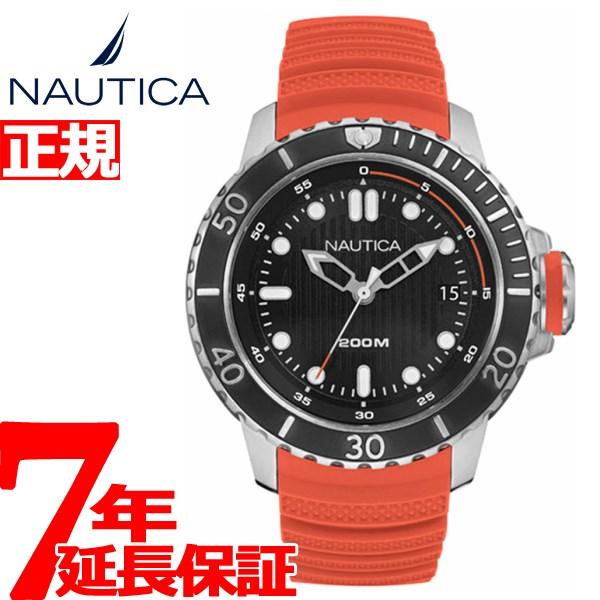ノーティカ NAUTICA 腕時計 メンズ ダイバー NMS DIVE STYLE DATE NAD18518G