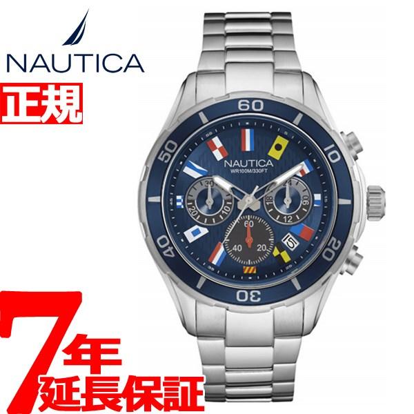 ノーティカ NAUTICA 腕時計 メンズ NST12 FLAGS クロノグラフ NAD19549G
