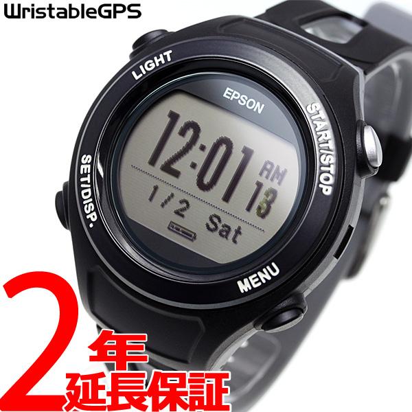 ポイント最大33倍!さらに最大2000円OFFクーポン付!5日23時59分まで!エプソン リスタブルGPS ランニングギア EPSON WristableGPS スマートウォッチ 腕時計 メンズ SF-120B