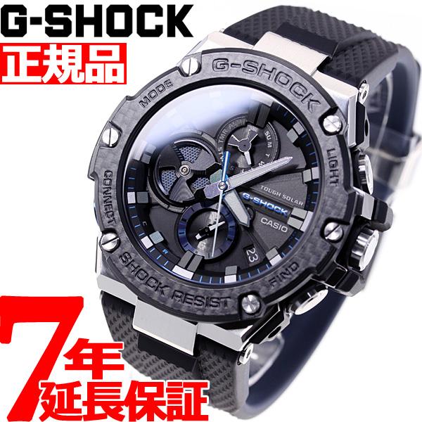 ニールがお得!今ならポイント最大39倍!10日23時59分まで! G-SHOCK G-STEEL カシオ Gショック Gスチール CASIO ソーラー 腕時計 メンズ タフソーラー GST-B100XA-1AJF