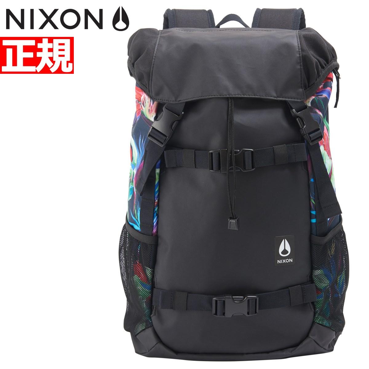 ニクソン NIXON リュック バックパック ランドロック3 LANDLOCK III BACKPACK BLACK/PARADICE 日本限定モデル NC28131633-00【2018 新作】