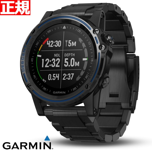 ガーミン GARMIN Descent Mk1 Ti GPS内蔵 スマートウォッチ ウェアラブル端末 ダイビング 腕時計 メンズ レディース ディーセントマークワン チタン 010-01760-51【2018 新作】