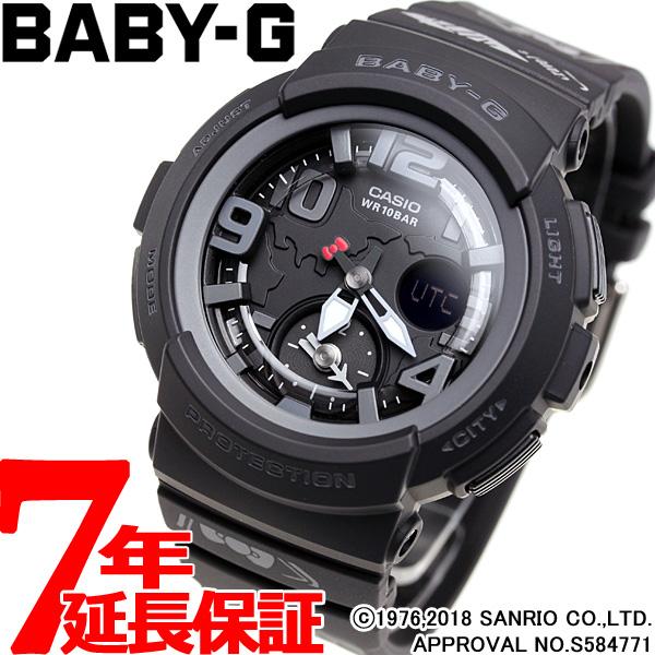 カシオ ベビーG CASIO BABY-G HELLO KITTY コラボ 限定モデル 腕時計 レディース BGA-190KT-1BJR【2018 新作】