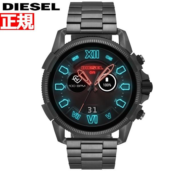 ディーゼル DIESEL ON スマートウォッチ ウェアラブル 腕時計 メンズ フルガード FULL GUARD 2.5 DZT2011