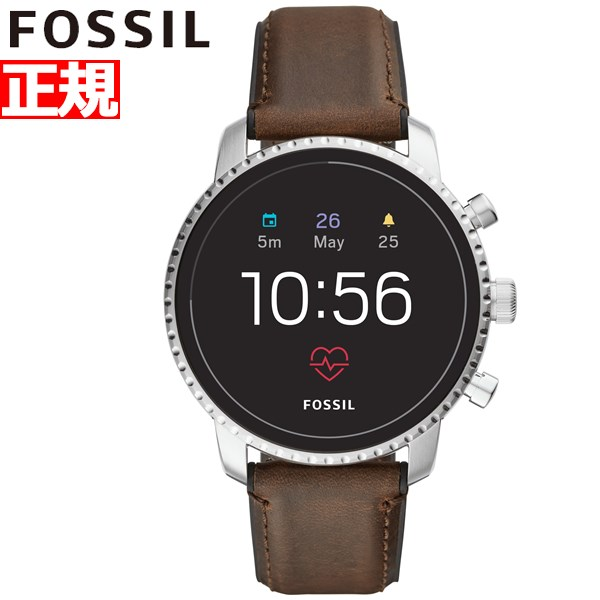 フォッシル FOSSIL Q スマートウォッチ ウェアラブル 腕時計 メンズ エクスプローリスト Q EXPLORIST FTW4015【2018 新作】