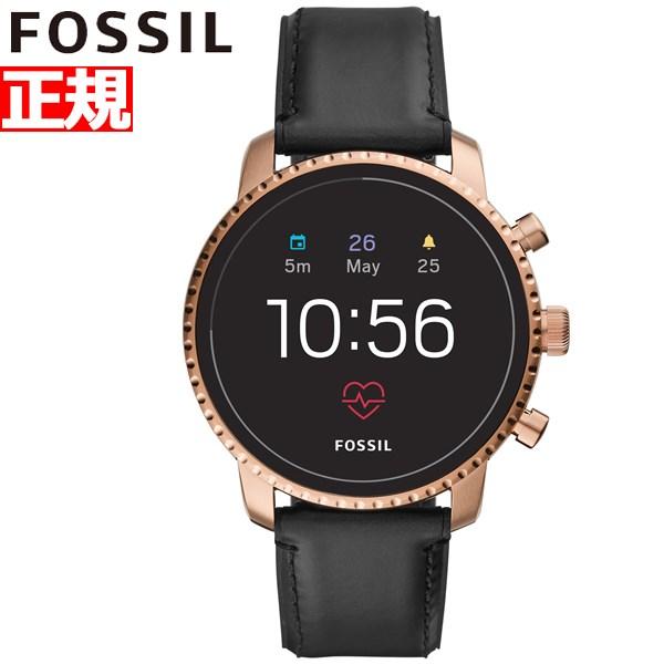 フォッシル FOSSIL Q スマートウォッチ ウェアラブル 腕時計 メンズ エクスプローリスト Q EXPLORIST FTW4017【2018 新作】