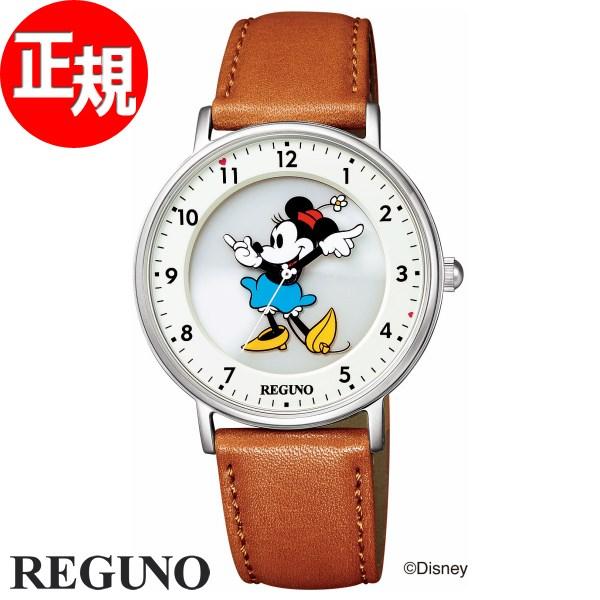 シチズン レグノ CITIZEN REGUNO ディズニーコレクション ミニー ソーラーテック 腕時計 レディース Disney KP3-112-12【2018 新作】