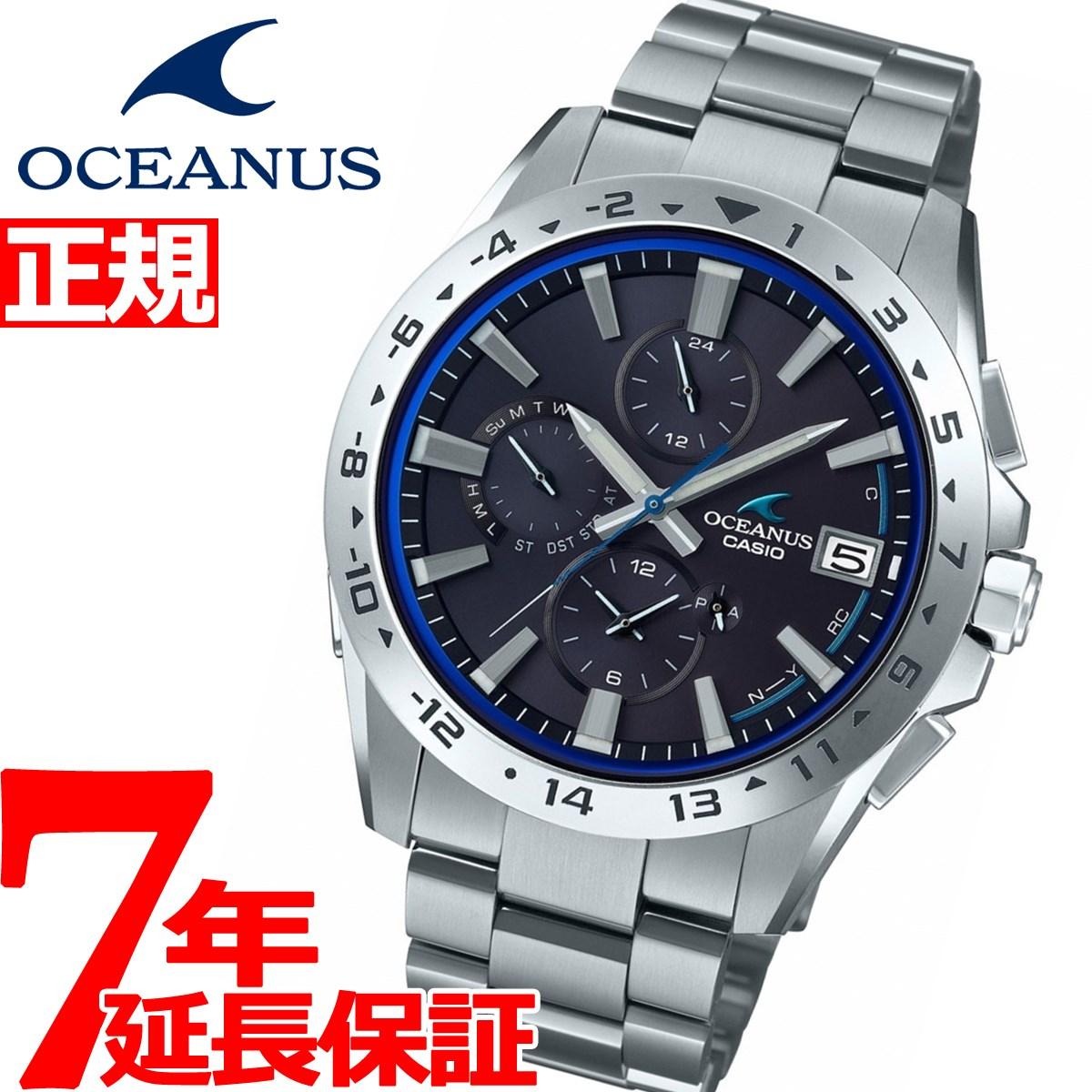 ニールがお得!今ならポイント最大39倍!10日23時59分まで! カシオ オシアナス 電波 ソーラー 腕時計 メンズ タフソーラー CASIO OCEANUS Classic Line OCW-T3000-1AJF【2018 新作】