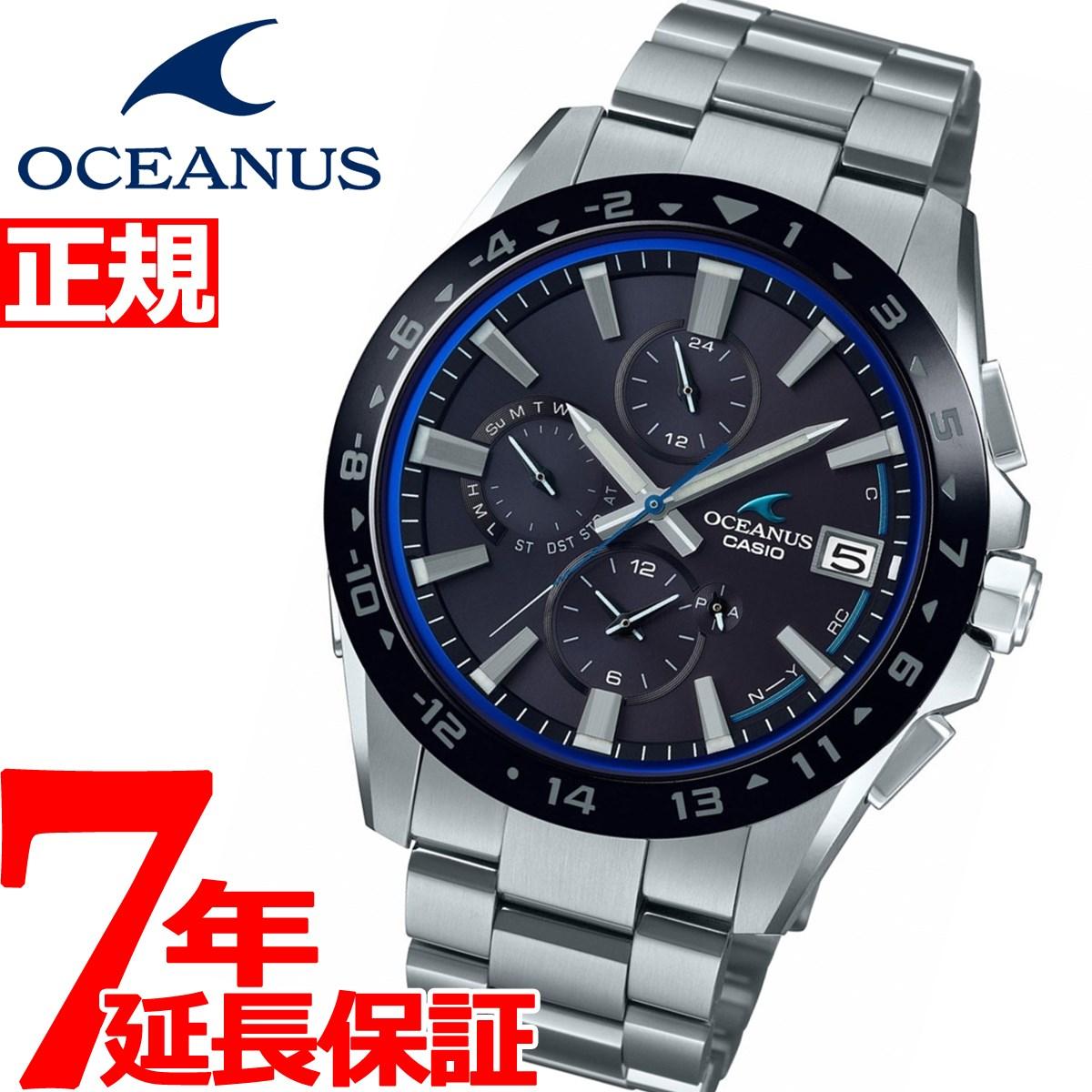 カシオ オシアナス 電波 ソーラー 腕時計 メンズ タフソーラー CASIO OCEANUS Classic Line OCW-T3000A-1AJF【2018 新作】