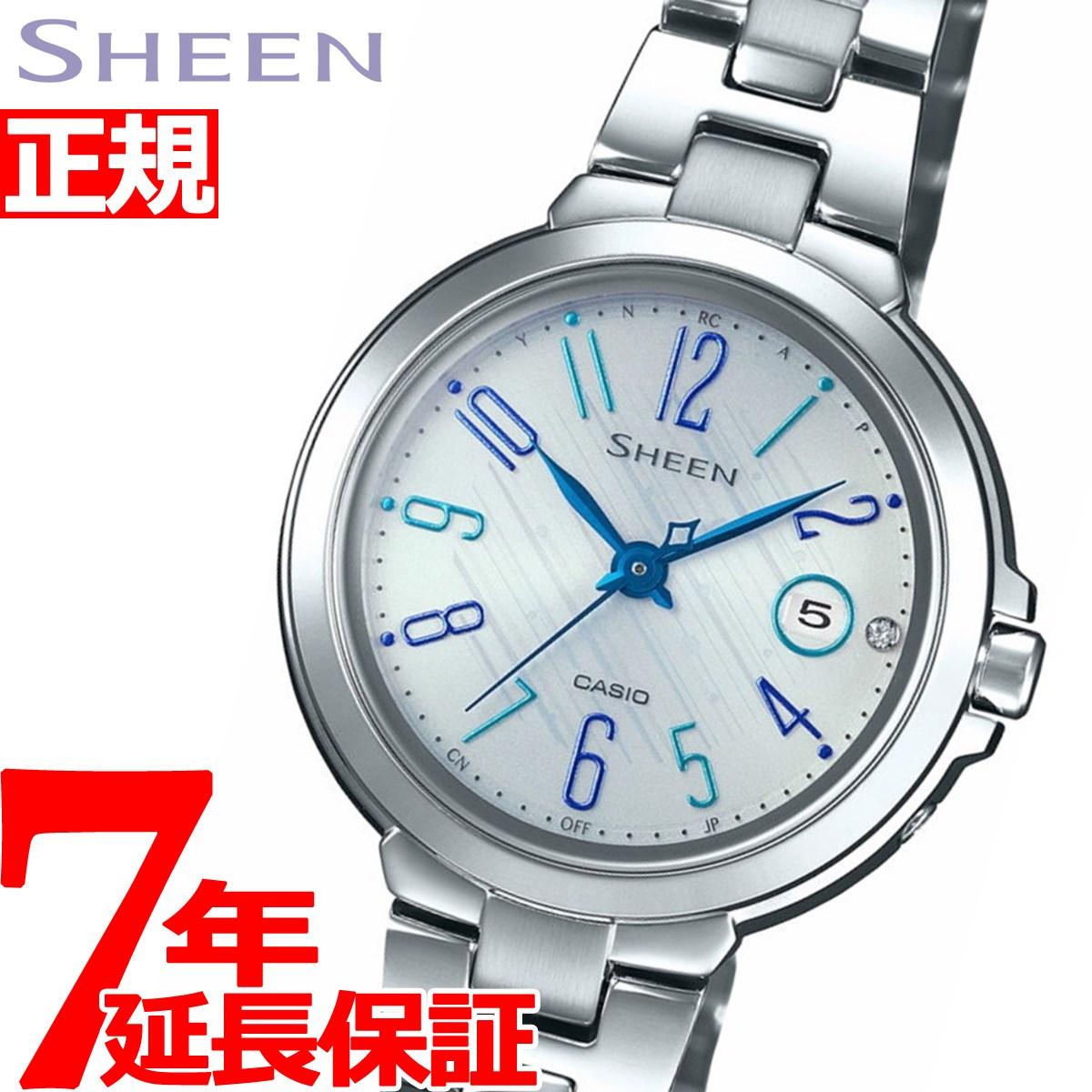 【SHOP OF THE YEAR 2018 受賞】カシオ シーン CASIO SHEEN 電波 ソーラー 電波時計 腕時計 レディース SHW-5100D-7AJF【2018 新作】