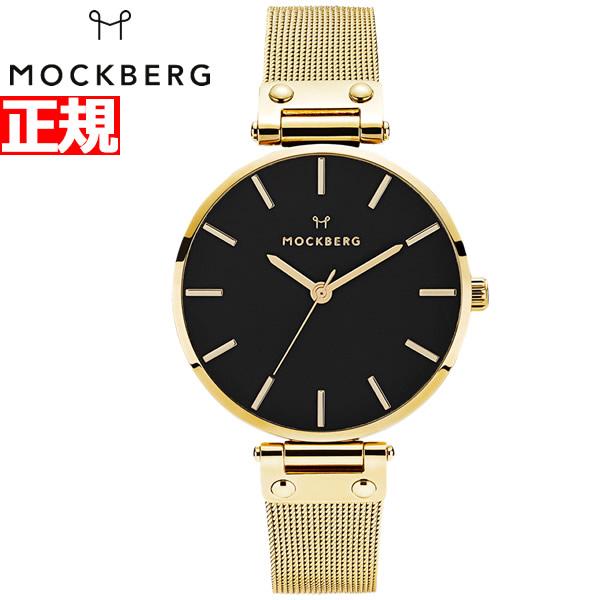 モックバーグ MOCKBERG 腕時計 レディース Livia Noir 38 MO503【2018 新作】