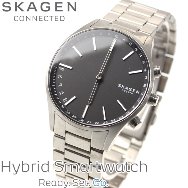 スカーゲン SKAGEN ハイブリッド スマートウォッチ ウェアラブル 腕時計 メンズ ホルスト HOLST SKT1305【2018 新作】