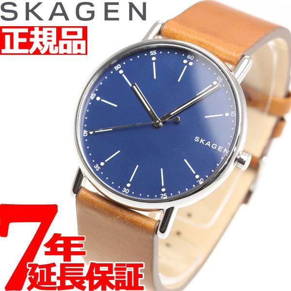 【5日0時~♪最大2000円OFFクーポン&店内ポイント最大51倍!5日23時59分まで】スカーゲン SKAGEN 腕時計 メンズ シグネチャー SIGNATUR SKW6355