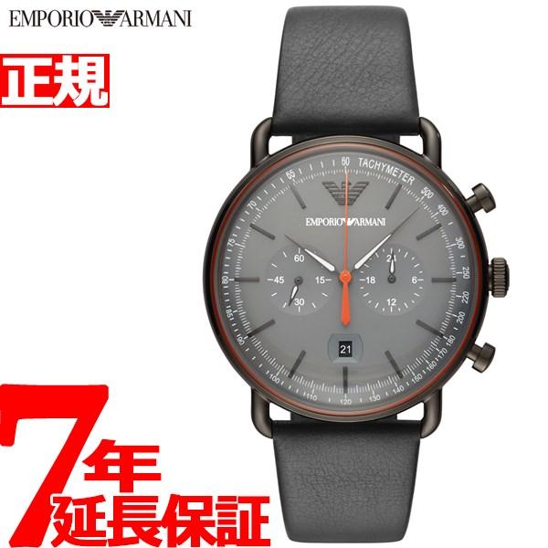 エンポリオアルマーニ EMPORIO ARMANI 腕時計 メンズ アビエーター AVIATOR クロノグラフ AR11168【2018 新作】