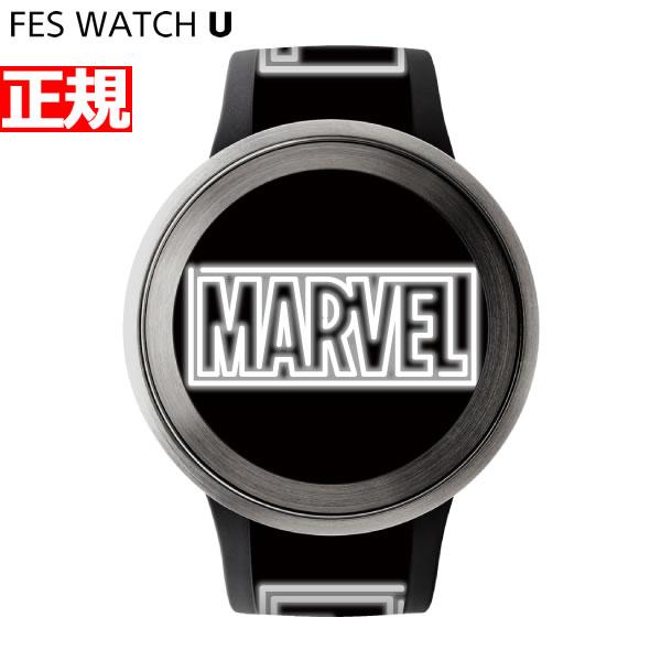 ソニー フェスウォッチ Sony FES Watch U MARVEL Comics スマートフォン連動ウォッチ 電子ペーパー 限定モデル 腕時計 メンズ レディース シルバー FES-WA1-CO7/S【2018 新作】