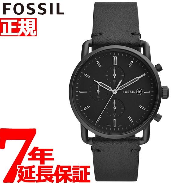 フォッシル FOSSIL 腕時計 メンズ ザ・コミューター クロノ THE COMMUTER CHRONO クロノグラフ FS5504【2018 新作】