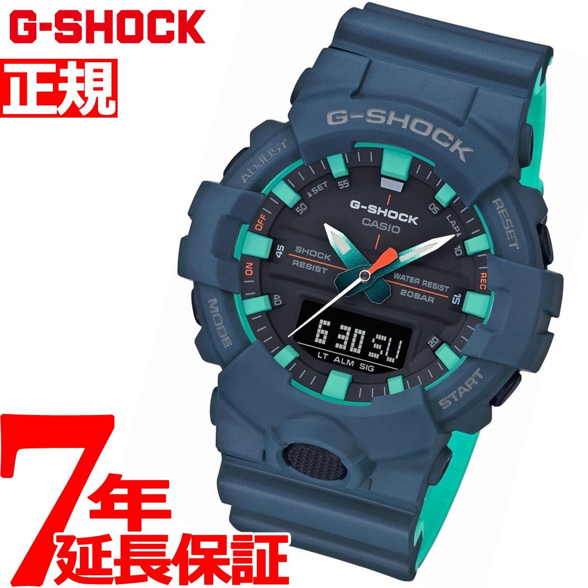 G-SHOCK アナデジ メンズ 腕時計 ネイビーブルー カシオ CASIO GA-800CC-2AJF【2018 新作】