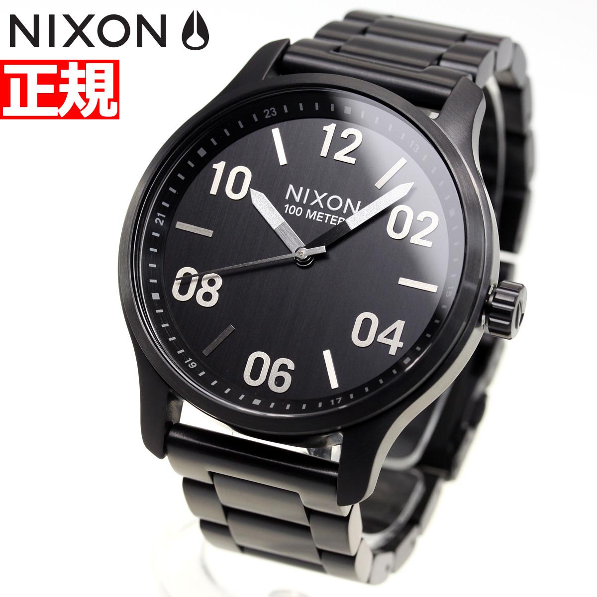 ニクソン NIXON パトロール PATROL 腕時計 メンズ ブラック/シルバー NA1242180-00【2018 新作】