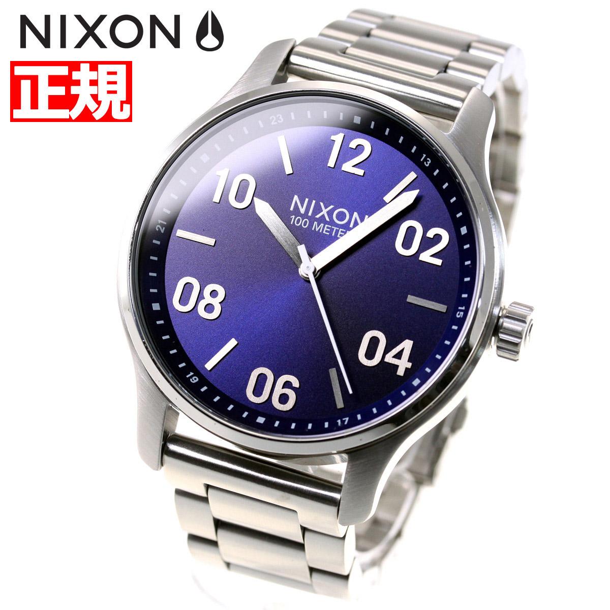 ニクソン NIXON パトロール PATROL 腕時計 メンズ ネイビー/シルバー NA12421849-00【2018 新作】