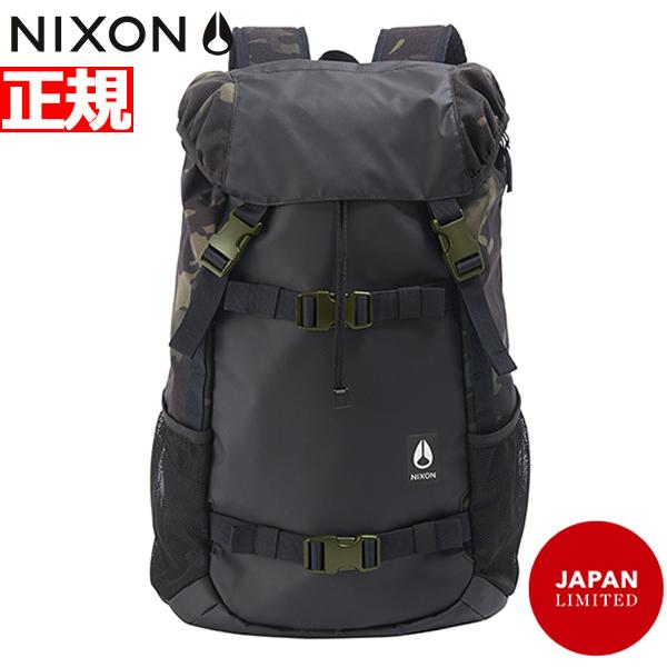 ニクソン NIXON リュック バックパック ランドロック3 LANDLOCK III BACKPACK BLACK/MULTICAM BLACK 日本限定モデル NC28133111-00【2018 新作】