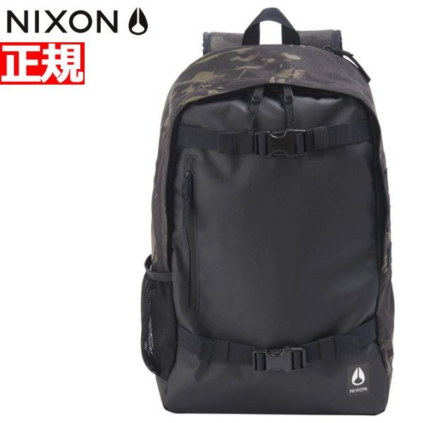 ニクソン NIXON リュック バックパック スミス3 SMITH III BACKPACK BLACK/MULTICAM BLACK 日本限定モデル NC28153111-00【2018 新作】
