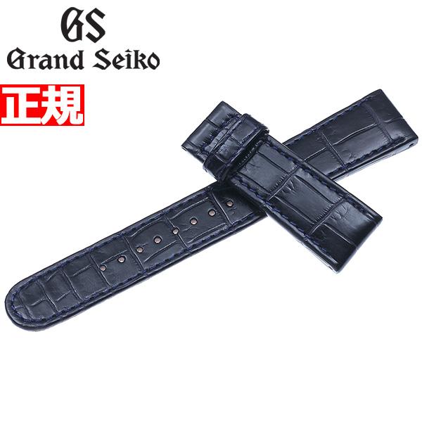 グランドセイコー GRAND SEIKO 替えバンド ベルト メンズ ネイビー クロコダイル 19mm R0303AC