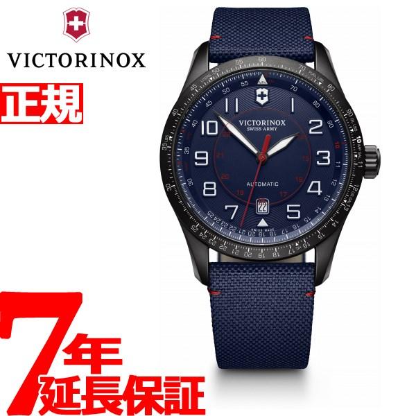 ビクトリノックス 時計 メンズ エアボス メカニカル 自動巻き VICTORINOX AIRBOSS MECHANICAL 腕時計 241820【2018 新作】