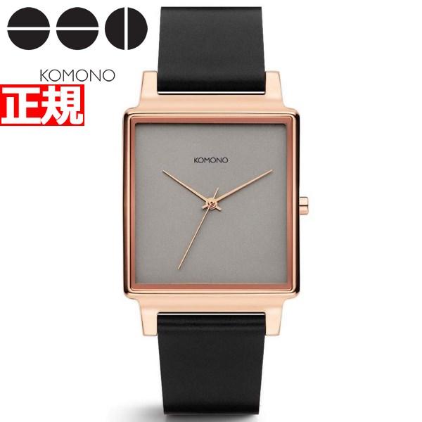 KOMONO 時計 レディース コモノ 腕時計 コンラッド ブラック ローズ KOM-W4206【2018 新作】