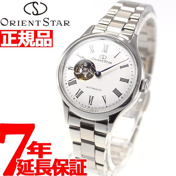 【SHOP OF THE YEAR 2018 受賞】オリエントスター ORIENT STAR 腕時計 レディース 自動巻き 機械式 クラシック CLASSIC クラシックセミスケルトン RK-ND0002S【2018 新作】