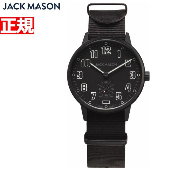 ジャックメイソン JACK MASON 日本限定モデル 腕時計 メンズ ブラックアウト フィールド FIELD JM-F401-017【2018 新作】