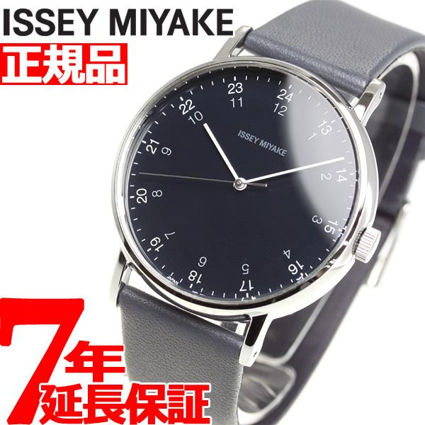 イッセイミヤケ ISSEY MIYAKE 腕時計 メンズ f エフ 岩崎一郎デザイン NYAJ006【2018 新作】