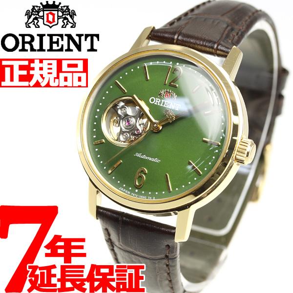 オリエント 腕時計 メンズ レディース 自動巻き 機械式 ORIENT クラシック CLASSIC セミスケルトン RN-AG0020E【2018 新作】