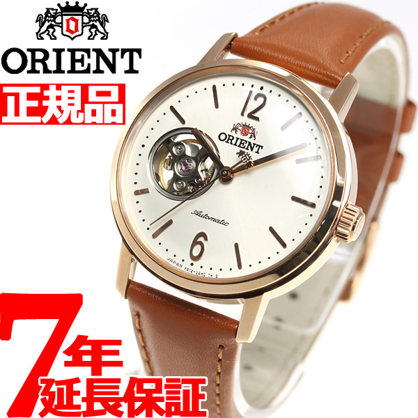 【SHOP OF THE YEAR 2018 受賞】オリエント 腕時計 メンズ レディース 自動巻き 機械式 ORIENT クラシック CLASSIC セミスケルトン RN-AG0022S【2018 新作】