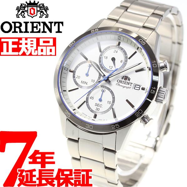 オリエント 腕時計 メンズ ORIENT コンテンポラリー CONTEMPORALY クロノグラフ RN-KU0001S【2018 新作】