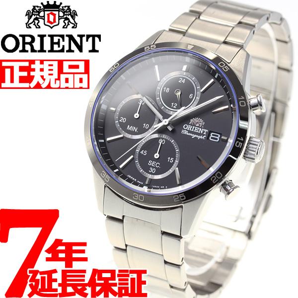 オリエント 腕時計 メンズ ORIENT コンテンポラリー CONTEMPORALY クロノグラフ RN-KU0002B【2018 新作】
