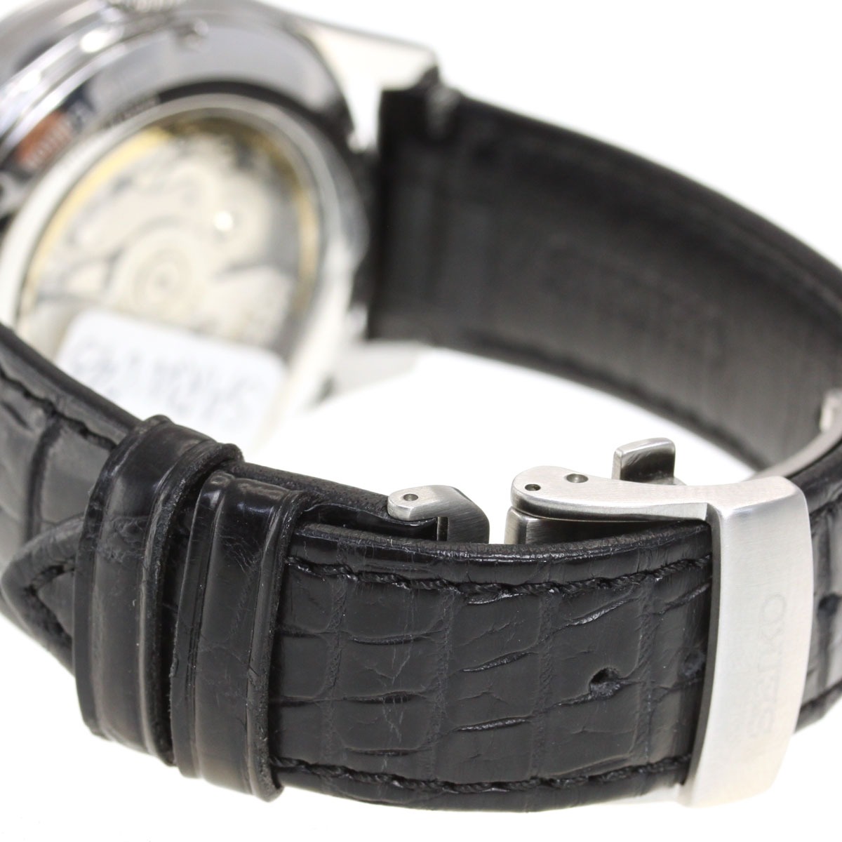 店内ポイント最大43倍 18日23時59分まで セイコー プレザージュ SEIKO PRESAGE 自動巻き メカニカル 漆白檀塗ダイヤル コアショップ専用 流通限定モデル 腕時計 SARW045N0POknX8w