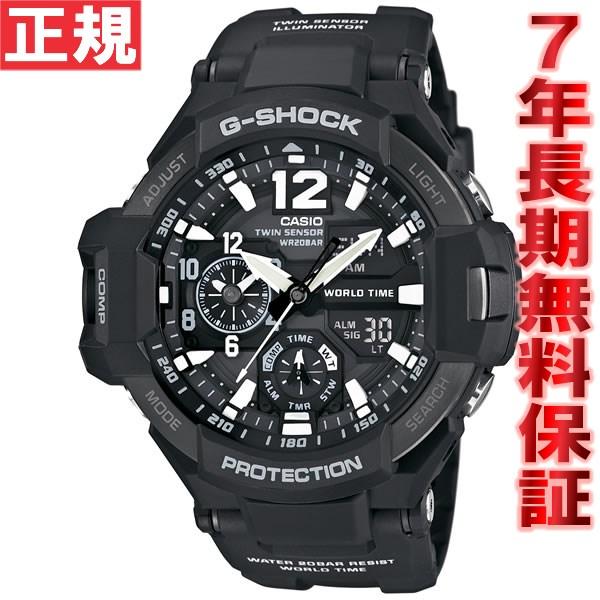 G-SHOCK ブラック カシオ Gショック スカイコックピット CASIO SKY COCKPIT 腕時計 メンズ アナデジ GA-1100-1AJF
