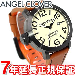 エンジェルクローバー Angel Clover 時計 メンズ 腕時計 レフトクラウン Left Crown LC45BSB-LB