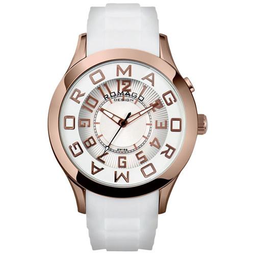 【お買い物マラソンは当店がお得♪本日20より!】ロマゴ デザイン ROMAGO DESIGN 腕時計 メンズ/レディース ATTRACTION アトラクション RM015-0162PL-RGWH