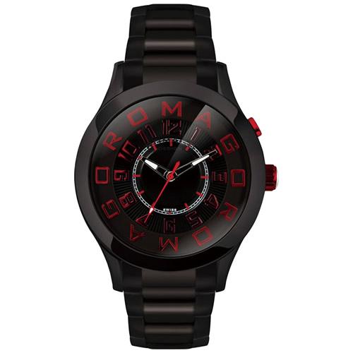 【お買い物マラソンは当店がお得♪本日20より!】ロマゴ デザイン ROMAGO DESIGN 腕時計 メンズ/レディース ATTRACTION アトラクション RM015-0162SS-BKRD